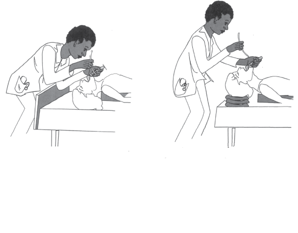 If you can't reach the patient easily you can intubate and ventilate well. Don't be afraid to ask for help moving the patient or for supports for the head.