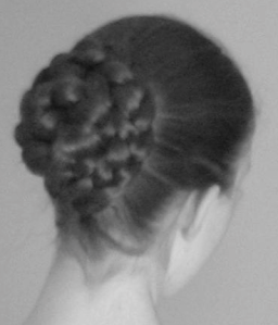 An intricate hair bun can interfere with your ability to tilt the patient's head into a god sniffing position.